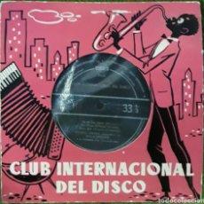 Discos de vinilo: VINILO CLUB INTERNACIONAL DEL DISCO. Lote 189894847