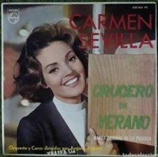 Discos de vinilo: VINILO CARMEN SEVILLA CRUCERO DE VERANO. Lote 189895962