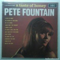 Discos de vinilo: PETE FOUNTAIN – A TASTE OF HONEY UK CORAL. Lote 189894872