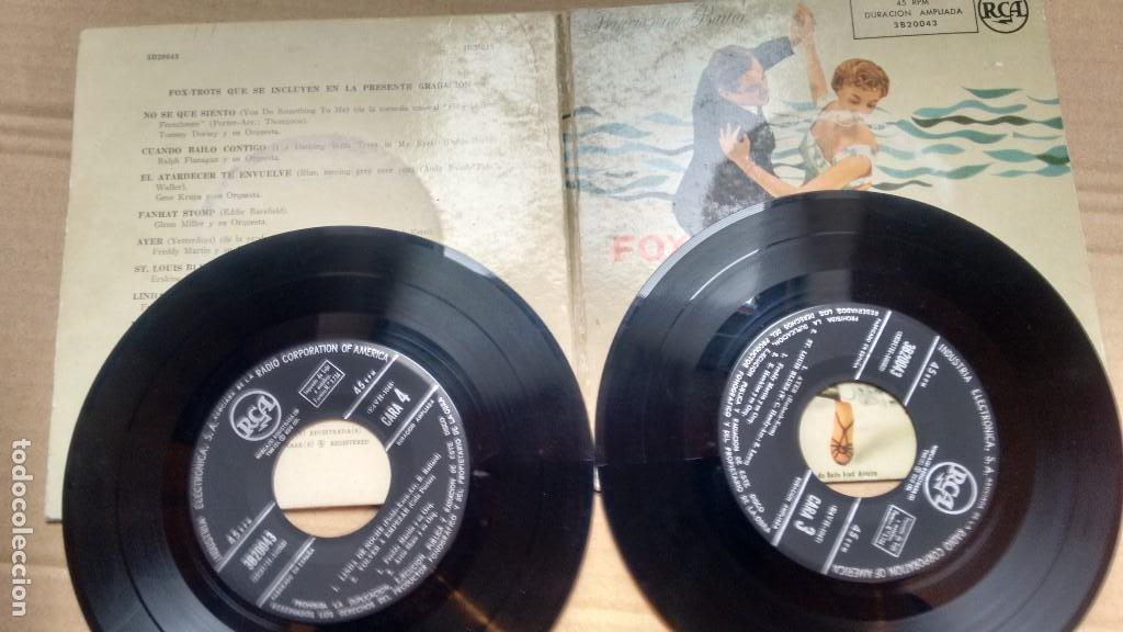 E P ( VINILO) FOXTROTS ( TOMMY DORSEY-GENE KRUPA-GLENN MILLER...) (Música - Discos de Vinilo - EPs - Jazz, Jazz-Rock, Blues y R&B)
