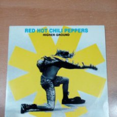 Discos de vinilo: RED HOT CHILI PEPPERS - HIGHER GROUND - PROMOCIONAL - BUEN ESTADO - VER FOTOS . Lote 189920470