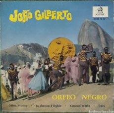 Discos de vinilo: VINILO JOĀO GILBERTO ORFEÓN NEGRO. Lote 189920961