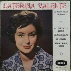 Discos de vinil: VINILO CATERINA VALENTE LA FLOR DE LA CANELA. Lote 189922426