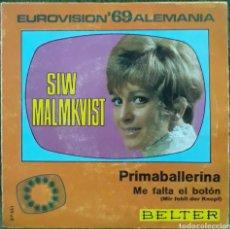 Discos de vinilo: VINILO EUROVISIÓN 69 ALEMANIA. Lote 189923088