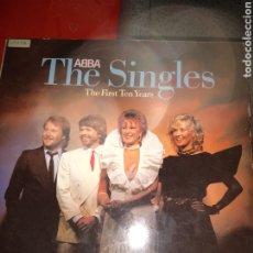 Discos de vinilo: ABBA.GRANDES ÉXITOS.DOBLE LP.BUEN ESTADO. Lote 189926577