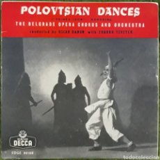 Discos de vinilo: VINILO POLOVTSIAN DANCES. Lote 189926955