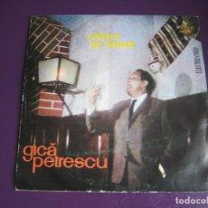 Discos de vinilo: GICĂ PETRESCU EP ELECTRORECORD 1968 RUMANIA - CÎNTECE DE PAHAR - DIRIA Q SIN ESTRENAR. Lote 189929902