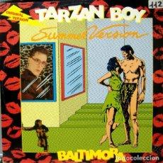 Discos de vinilo: BALTIMORA – TARZAN BOY (SUMMER VERSION). Lote 189939426