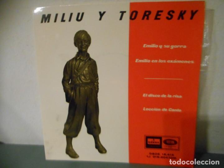 MILIU Y TORESKY (Música - Discos de Vinilo - EPs - Música Infantil)