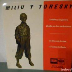 Discos de vinilo: MILIU Y TORESKY. Lote 189940506