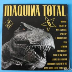 Discos de vinilo: MAQUINA TOTAL 6 - DOBLE LP VINILO . Lote 189953282