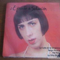 Discos de vinilo: EL EJÉRCITO DE SALVACIÓN ****** RARO EP RUMBA POP 1989. Lote 189968398