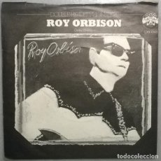 Disques de vinyle: CURTIS LEE: PRETTY LITTLE ANGEL EYES/ ROY ORBISON: OOBY DOOBY. CHARLY, UK 1978 SINGLE. Lote 189972500