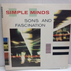 Discos de vinilo: LP-SIMPLE MINDS- SONS AND FASCINATION 1981 EN FUNDA ORIGINAL . Lote 189988576
