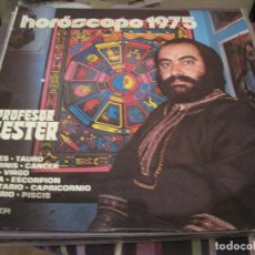 Discos de vinilo: LP PROFESOR LESTER HOROSCOPO 1975 BELTER 23027 BIZARRO. Lote 189989700