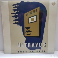 Discos de vinilo: LP-ULTRAVOX- RAGE IN EDEN 1981 EN FUNDA ORIGINAL . Lote 189991102