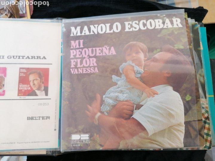Discos de vinilo: Lote discos EP Manolo Escobar etc - Foto 2 - 189993697