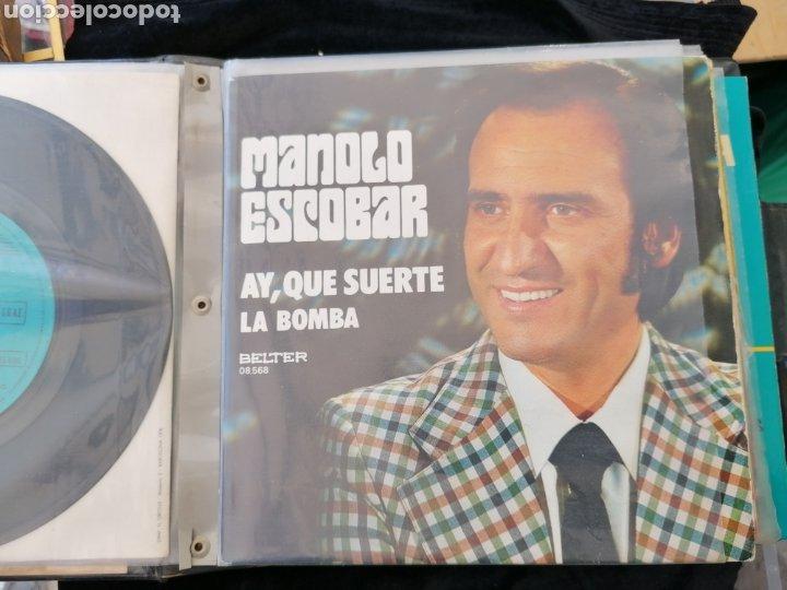 Discos de vinilo: Lote discos EP Manolo Escobar etc - Foto 9 - 189993697