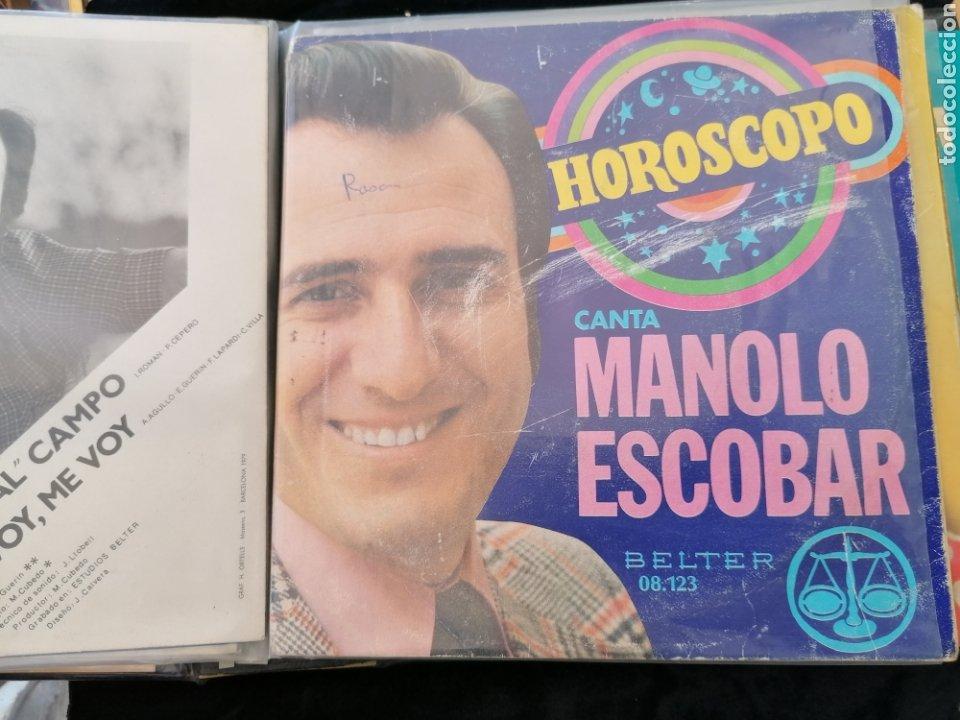 Discos de vinilo: Lote discos EP Manolo Escobar etc - Foto 10 - 189993697