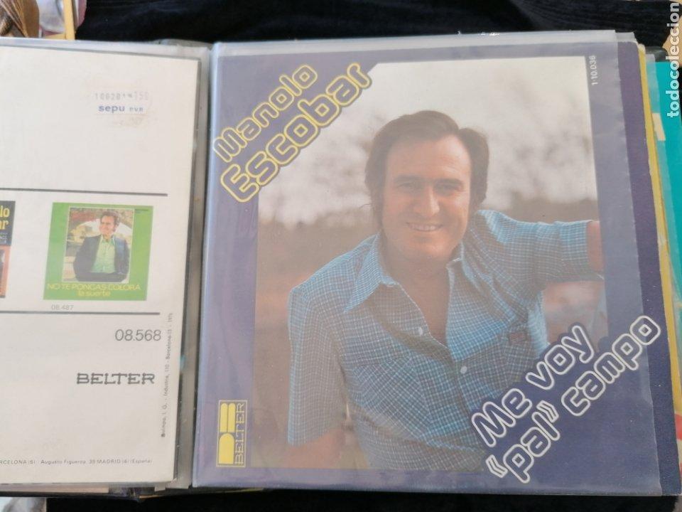 Discos de vinilo: Lote discos EP Manolo Escobar etc - Foto 12 - 189993697
