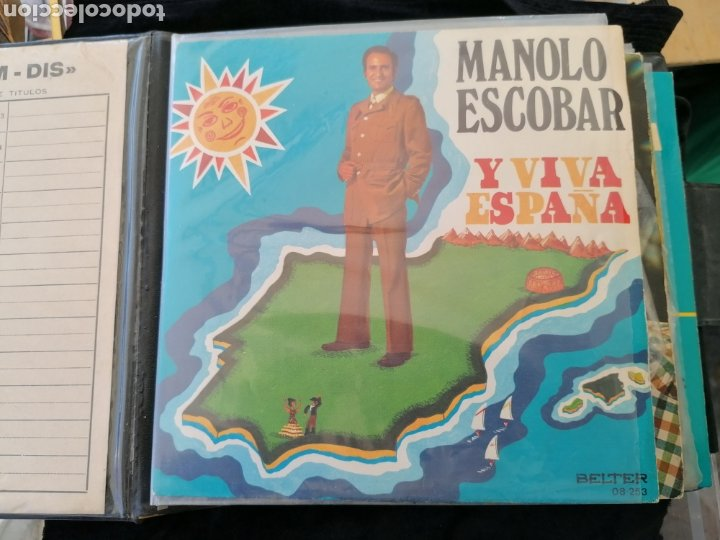 Discos de vinilo: Lote discos EP Manolo Escobar etc - Foto 15 - 189993697