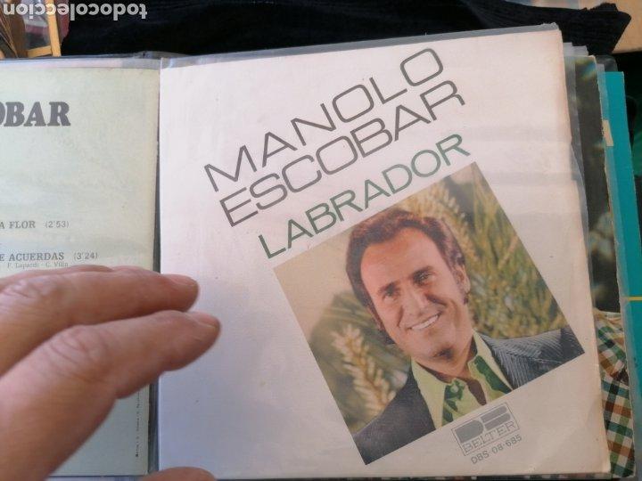 Discos de vinilo: Lote discos EP Manolo Escobar etc - Foto 4 - 189993697