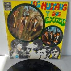 Discos de vinilo: LOS MUSTANG Y SUS EXITOS. EXITOS DE LOS MUSTANG. XKK 302. 1968. SPAIN. Lote 189996540