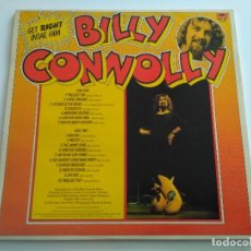 Discos de vinilo: BILLY CONNOLLY - GET RIGHT INTAE HIM - LP - POLYDOR 1975 UK. Lote 189999145