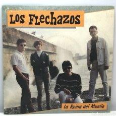Discos de vinil: LOS FLECHAZOS, LA REINA DEL MUELLE (DRO 1990). Lote 189999952