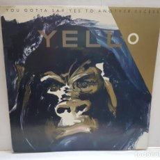 Discos de vinilo: LP-YELLO-YOU GOTTA SAY YES TO ANOTHER EXCESS 1983 EN FUNDA ORIGINAL . Lote 190002782