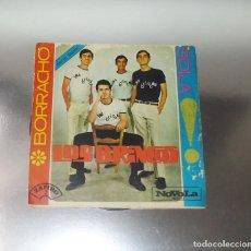 Discos de vinilo: LOS BRINCOS --- BORRACHO / SOLA ---------EDICION 1965------( NM OR M- ( VG ). Lote 190005888