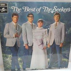 Discos de vinilo: LP-THE BEST OF THE SEEKERS- EN FUNDA ORIGINAL 1967. Lote 190006951