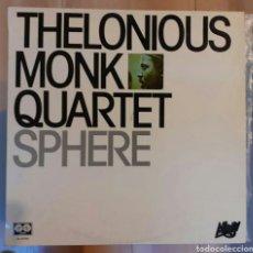 Discos de vinilo: THELONIOUS MONK QUARTET - SPHERE (1980). Lote 190007980