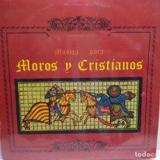 Discos de vinilo: LP-MOROS Y CRISTIANOS- EN FUNDA ORIGINAL 1973. Lote 190010635