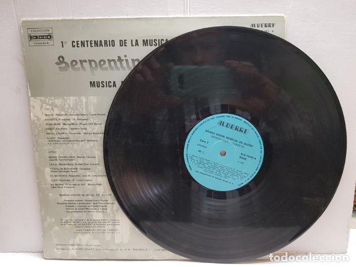 Discos de vinilo: LP-MOROS Y CRISTIANOS- SERPENTINES i CONFETTI en funda original 1982 - Foto 3 - 190010828