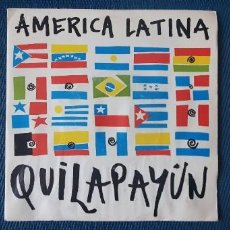 Discos de vinilo: QUILAPAYÚN – AMERICA LATINA SELLO: EMI – 1735067 FORMATO: VINYL, 7 , 45 RPM PAÍS: FRANCE . Lote 190011862