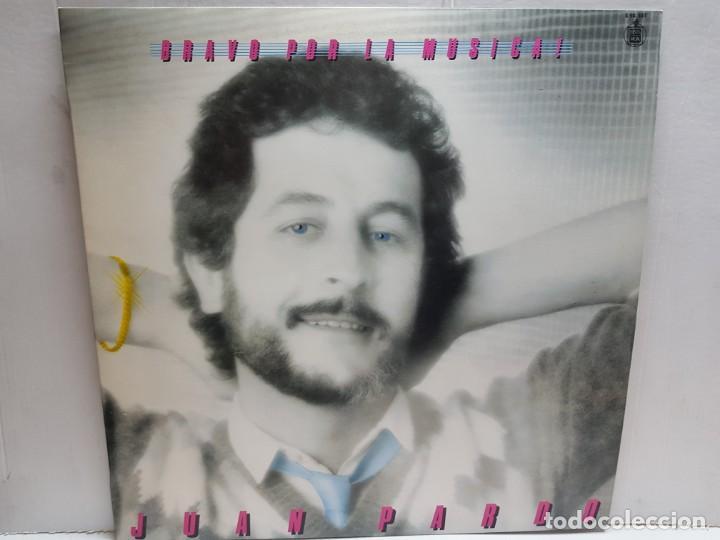 LP-JUAN PARDO-BRAVO POR LA MUSICA EN FUNDA ORIGINAL 1982 (Música - Discos - LP Vinilo - Solistas Españoles de los 70 a la actualidad)