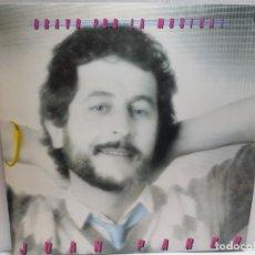 Discos de vinilo: LP-JUAN PARDO-BRAVO POR LA MUSICA EN FUNDA ORIGINAL 1982. Lote 190012018