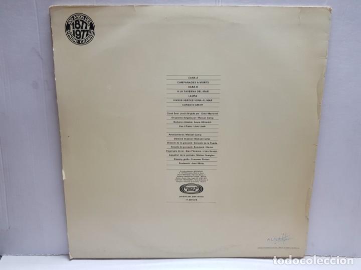 Discos de vinilo: LP-LLUIS LLACH-CAMPANADES A MORTS en funda original 1977 - Foto 2 - 190012635