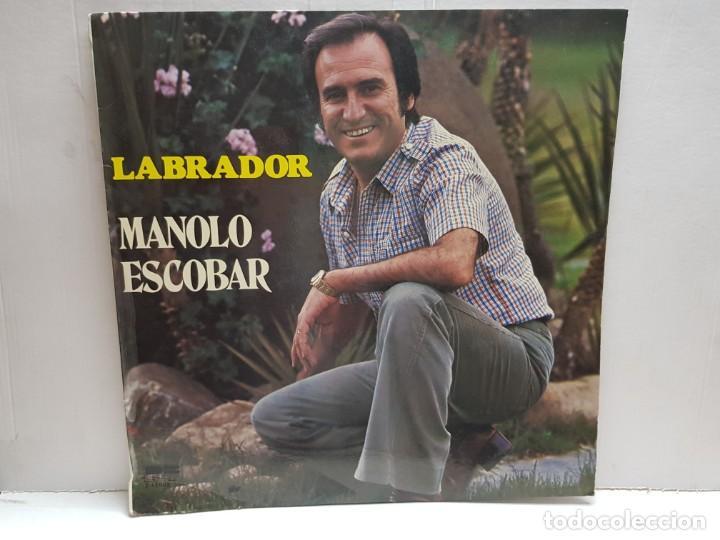 LP-MANOLO ESCOBAR-LABRADOR EN FUNDA ORIGINAL 1978 (Música - Discos - LP Vinilo - Solistas Españoles de los 70 a la actualidad)