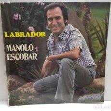 Discos de vinilo: LP-MANOLO ESCOBAR-LABRADOR EN FUNDA ORIGINAL 1978 . Lote 190013992