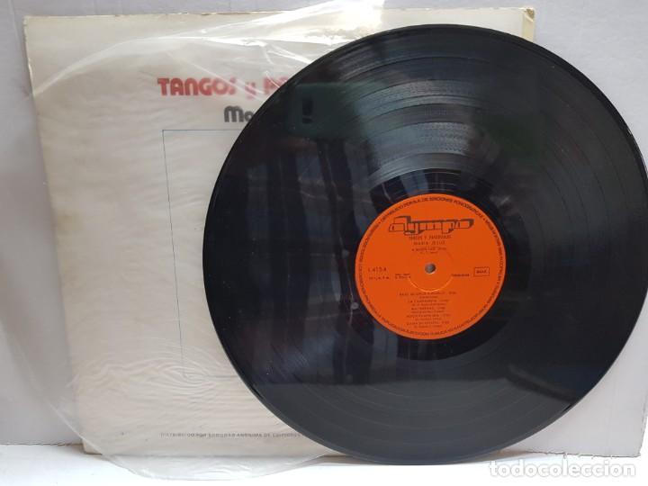 Discos de vinilo: LP-MARIA JESUS-TANGOS Y PASODOBLES en funda original 1976 - Foto 3 - 190014145
