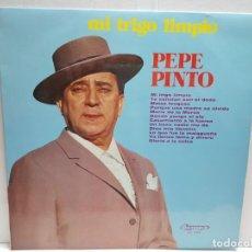 Discos de vinilo: LP-PEPE PINTO-MI TRIGO LIMPIO EN FUNDA ORIGINAL 1974. Lote 190014517