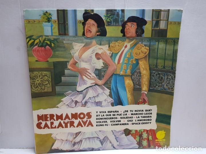 LP-HERMANOS CALATRAVA- EN FUNDA ORIGINAL 1976 (Música - Discos - LP Vinilo - Solistas Españoles de los 70 a la actualidad)