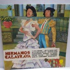 Discos de vinilo: LP-HERMANOS CALATRAVA- EN FUNDA ORIGINAL 1976. Lote 190014673