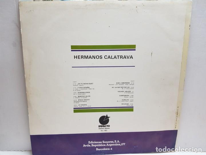 Discos de vinilo: LP-HERMANOS CALATRAVA- en funda original 1976 - Foto 2 - 190014673