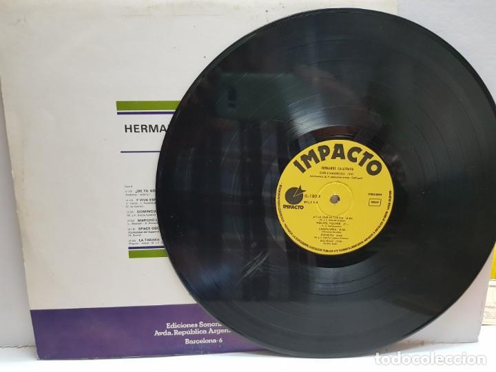 Discos de vinilo: LP-HERMANOS CALATRAVA- en funda original 1976 - Foto 3 - 190014673