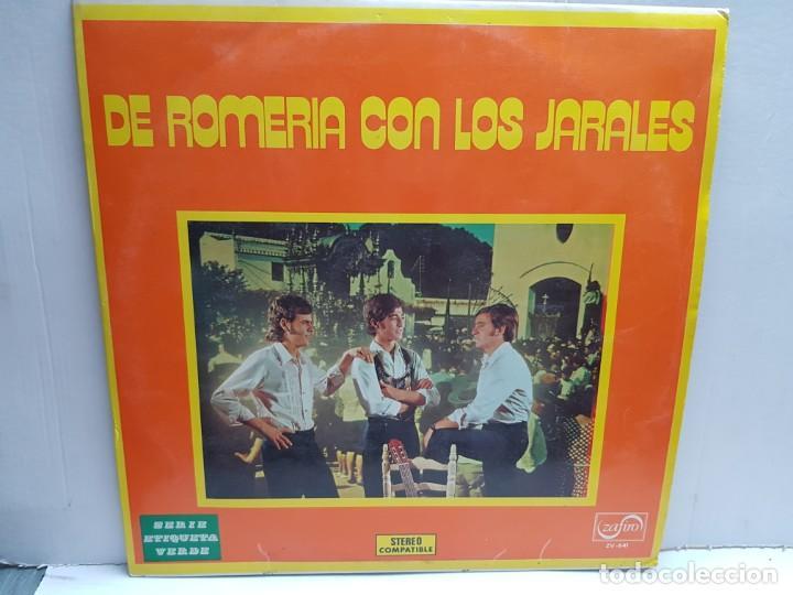 LP-DE ROMERIA CON LOS JARALES- EN FUNDA ORIGINAL 1972 (Música - Discos - LP Vinilo - Solistas Españoles de los 70 a la actualidad)