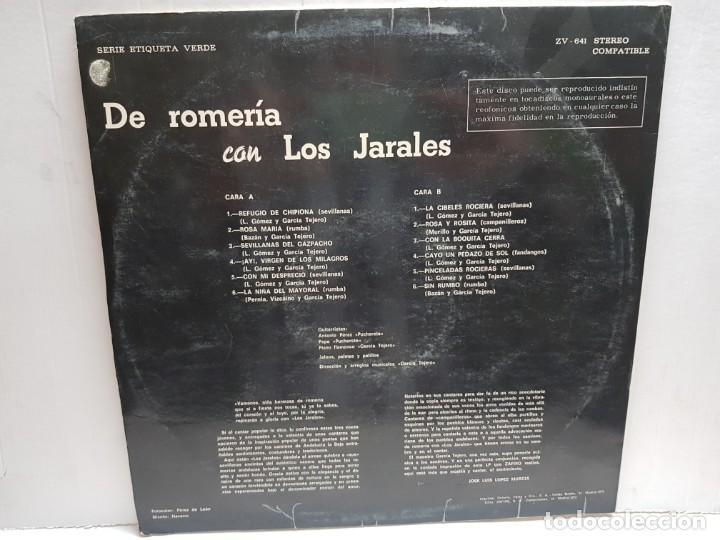 Discos de vinilo: LP-DE ROMERIA CON LOS JARALES- en funda original 1972 - Foto 2 - 190014878