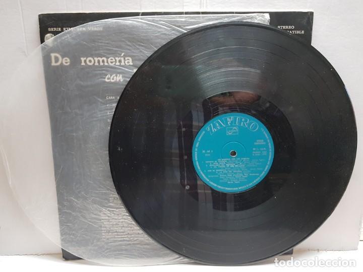 Discos de vinilo: LP-DE ROMERIA CON LOS JARALES- en funda original 1972 - Foto 3 - 190014878